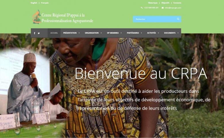 Creation de site internet crpa-gie.org effectué par Didacweb