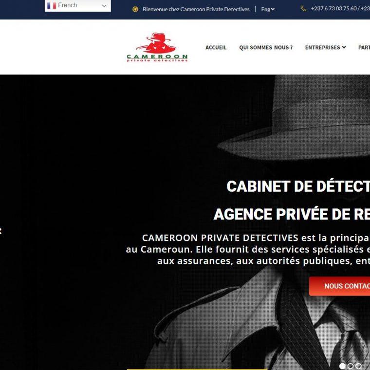 cameroon private detectives realisé par didacweb creation de site web moins cher à douala 1