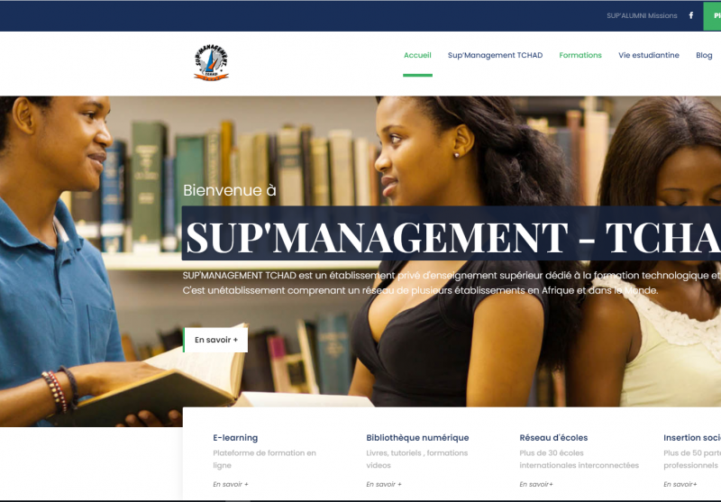 sup'management realisation site web 01