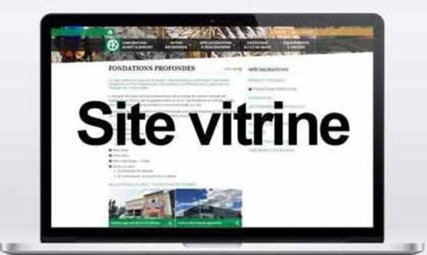 ETAPE DE CR2ATION DE SITE VITRINE