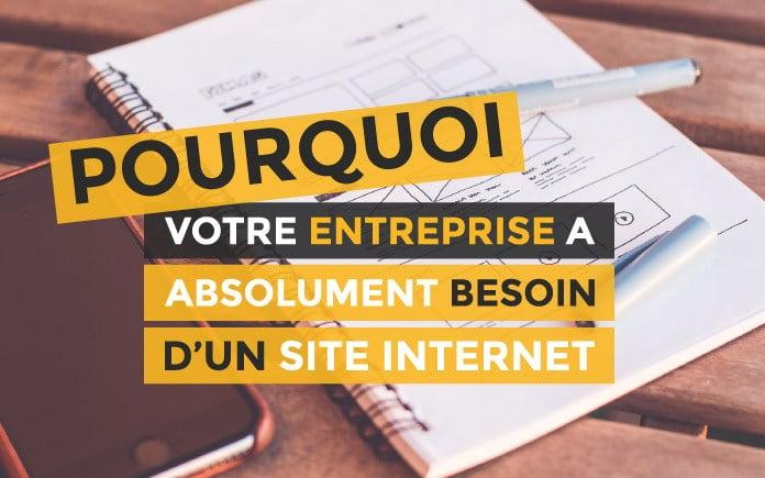 la conception d'un site web représente quoi exactement pour votre entreprise